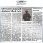 02-articolo del 25 agosto 2018-EU-ACT-LA NUOVA DEL SUD